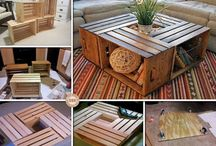 Coffee table / Wine boxes