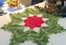 Вязание -салфетки