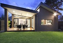 modern lakóépületek