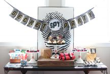 Spy Birthday Party Ideas / Your mission, should you choose to accept it: throw the best birthday party ever for your little secret agent man!   Styling by Jen Dixon of CraftThatParty.blogspot.com  / by Birthday Express