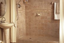 Tiled bathrooms