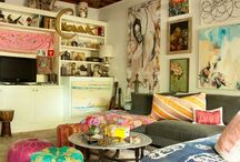 Boho Interiors / Boho Design Inspiration