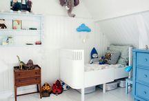 White kid bedroom