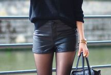 Fashion: How to wear shorts in winter / How to wear shorts in winter