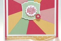 Littlies cards / Cards for babies and little ones / by Adelle Friswell