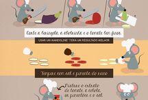 receitas vegetarianas •