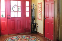 Entry/Foyer/Mudroom / by Jackie Moyer