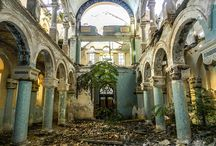 The Great Synagogue of Constanta, abandonned / The Great Synagogue of Constanta, abandonned