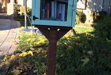 Free Little Libraries / Small structures, outside houses and businesses, containing free books to take and free books give to others / by Livermore Public Library