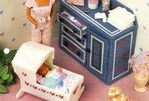 Barbie Furniture/Plastic Canvas