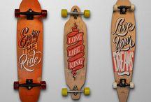 Skim i skateboard