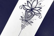 Mandals and ornaments / Ideas for tattoos of mandalas and ornaments!
