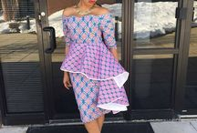 Dressing African Style / African dress in myriad styles shapes and colors