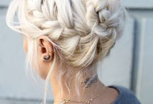 - Hairstyle -
