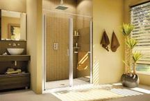 Shower Doors / Shower door concepts to enhance and improve a shower stall.