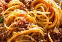 macarrão/ pasta