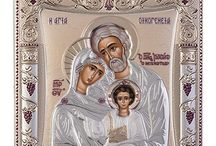 Holy Family Greek Orthodox icon