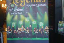 Le spectacle 2015 de Celtic Legends / *Cécilia* Celtic Legends (en tournée dans toute la France du 01 mars au 19 avril 2015) présentait le 09 décembre 2014 son spectacle 2015 à l'Olympia à Paris. Forcément, j'ai été voir, curieuse que je suis ;) Je vous montre 3 photos (euh la brune pas en tenu, c'est Bibi lol).