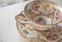 Tea cup and saucers