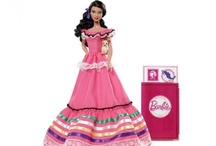 All types of dolls from Barbie to dolls around the world.......