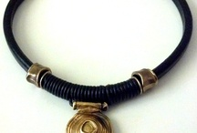 black/rubber jewelry