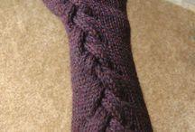 Fingerless gloves and leg warmers