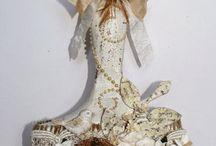 Pennelli decorati