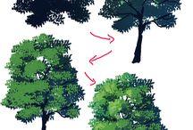 木の描きかた