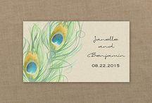 Tab Cards for Pocket Invitations