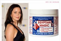 Egyptian Magic / Egyptian Magic is an all-natural skin cream made from six of nature's most powerful moisturizing and healing ingredients. For more than 20 years we have been blending these ingredients using our unique, proprietary process based on a formula that was created thousands of years ago in the land of the Pharaohs. A luxurious cream with moisturizing and nourishing properties that is legendary among celebrities, the fashion industry, even doctors and hospitals.