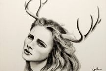 Antlers on women / by Avalon Isle