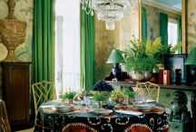 Going GREEN in DECOR / by Leslee Walser
