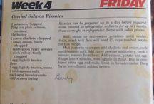 Recipes - Mains fish