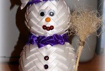 vánoční falešný patchwork