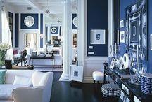 Gorgeous Blues & Whites / by Kacie Turner