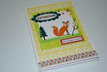 Caderno Personalizado - Scrapbook