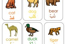 Animal themed activities / Read an animal-themed Arabic book then enjoy a craft with your child to reinforce the names of animals in Arabic and other relevant vocabulary.