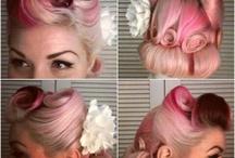 vintage hair look book ideas