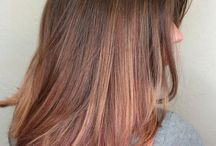 Rosegold ombre