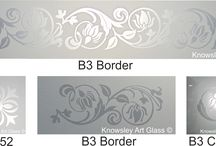 Double Etched Glass