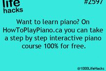piano - How To