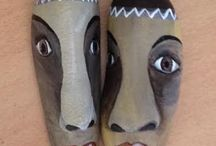 pebble faces