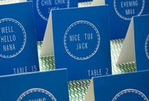 Take a Seat! / escort cards that will delight your guests