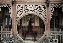 tradisional china door