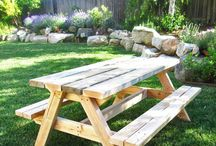 Backyard DIY Furniture Projects