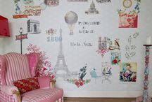 Coordonne's 'Travel Memories' Wallpaper & Mural Collection / 'Travel Memories' is an innovative collection of wallpapers and murals that transports you to different locations throughout the world, a safari in Africa, the Eiffel Tower in Paris to the Manhattan skyline of New York.