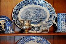 Blue & White Pottery
