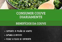Beneficios para saúde / Beneficios de alimentos