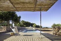piscinas y exteriores