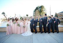 REAL WEDDINGS -- Pink